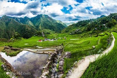 Batad Rice Paddies Philippines Photo Ooaworld