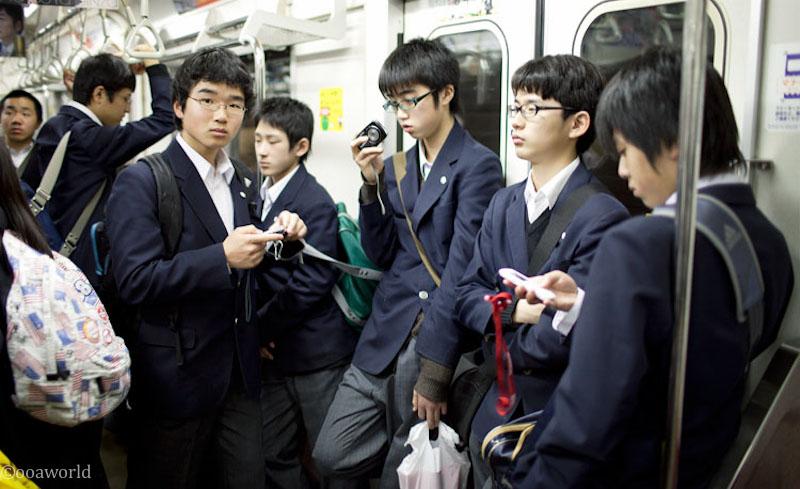 Asian schoolboys